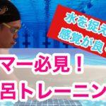 【水泳】【トレーニング】スイマー必見!お風呂トレーニング!【筋トレ】【競泳】
