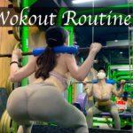 筋トレ女子のルーティーン/脚痩せ・ヒップアップ My Workout Routine/slim leg& butt workout/健身女孩的日常・美臀