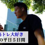 28歳筋トレ大好き経営者の平日5日間