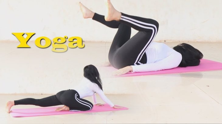 Beautiful movement, yoga workout butt lift 瑜珈/筋トレ 레깅스 ヨガで美尻・ヒップアップトレーニング stretching Home training