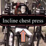 【筋トレ】Vol.73【胸上部】 インクラインチェストプレスマシン❗️ このマシン好きなんです。ワンハンドおすすめ😊👍