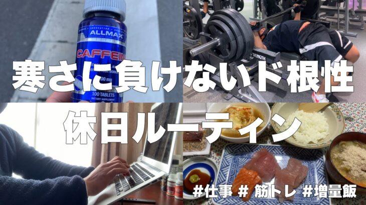 【ルーティン#33】早朝筋トレ/勉強初心者/食事好き   ベンチプレス160kgフリーランスの休日2日間 日本人Vlog