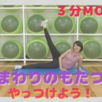 ⑪筋トレ(腰まわり編)【スッキリ!3分MOVE】