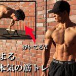 【筋トレ】超人が自重を極めるとスゴイことになった【プランシェ】Planche Motivation Street Workout / Training