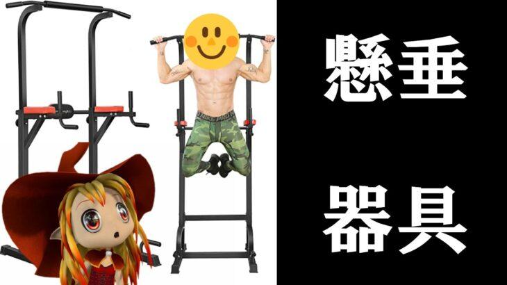 【筋トレ】懸垂マシン買ってみた!【自重】chin up machine