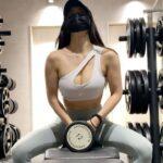 筋トレ女子のルーティーン【my workout routine/我的健身routine】美背中・肩・二の腕・マッサージ