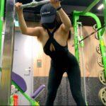 筋トレ女子のルーティーン(魅せる背中の作り方)workout routine(back day)背部訓練