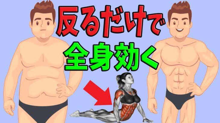 【たった30秒】痩せる為の筋トレとストレッチがコレ1種目で出来る!