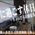 {VLOG]勉強&筋トレ系会社員の休日ルーティン #51 /Study Vlog