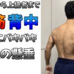 【筋トレ】腹筋と背中を同時にバキバキに!最強の懸垂をレベル別で紹介