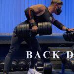 【筋トレ】重量を扱っての背中のトレーニング