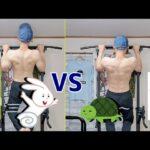 【速い懸垂VS遅い懸垂】どっちが筋肉つくの?【筋トレ・チンニング】