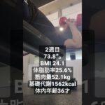 365日後にイケメンになる筋トレダイエット 8/30-9/6 #Shorts