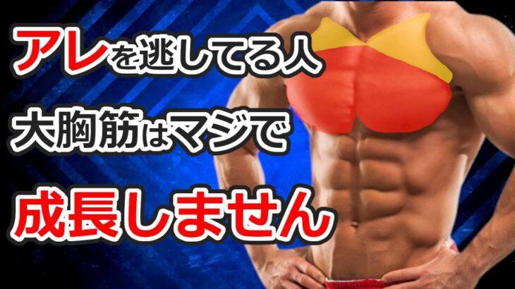 【厚みを作る筋トレ】科学的な大胸筋トレーニングメニュー