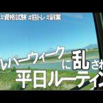 [vlog]勉強&筋トレ系会社員の平日ルーティン(反省週間編) #94 /Study Vlog