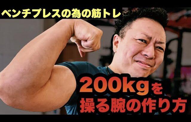 【即戦力】ベンチプレスの重量をUPさせる筋トレはコレ‼️【解説】